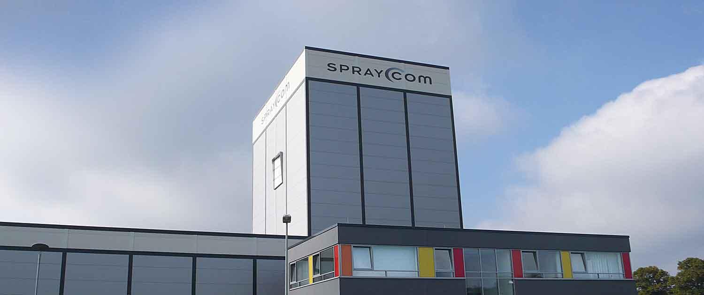 SprayCom Gebäude